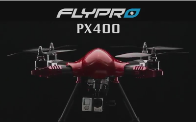 Dramatic website videos from World's first FPV auto-follow Quadcopter drone