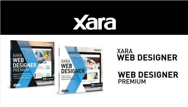Just Launched: Xara Web Designer 365 & Web Designer 365 Premium