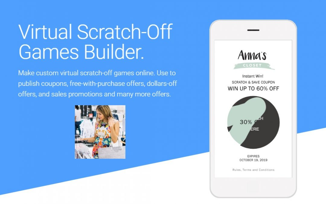 New Virtual Scratch-Off Games Builder by Priiize.com