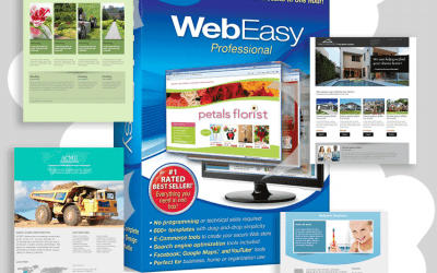 New! 1000's of Website Template Combinations – WebEasy Professional