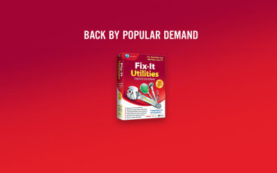 Fix-It Utilities – 40+ tools to fix and speed up your PC $39.95